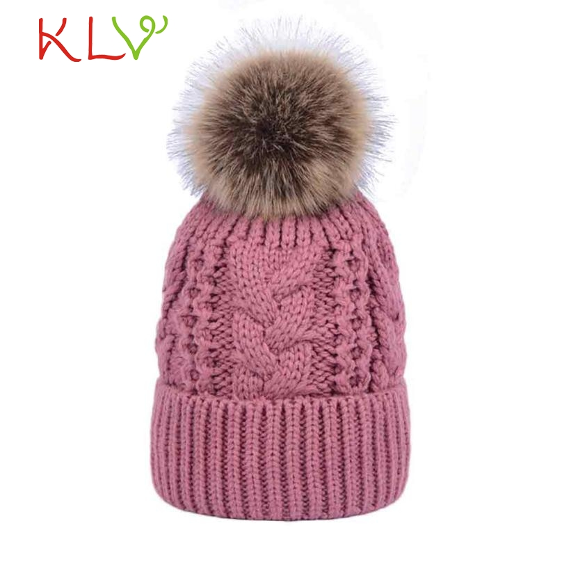 Skullies & Beanies Unisex Double layer Cashmere Winter Crochet Hat Wool Knit  Warm Cap Levert Dropship 302 Hot DropshipAp18 wool skullies cap hat 10pcs lot 2289