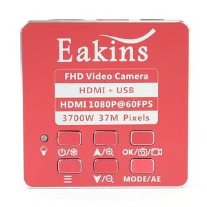 Image 4 - 37MP FHD 1080P 60FPS HDMI USB Lab Digital Industrial Video Microscope Camera Zoom 200X Lens 170mm Phone PCB Repair Soldering
