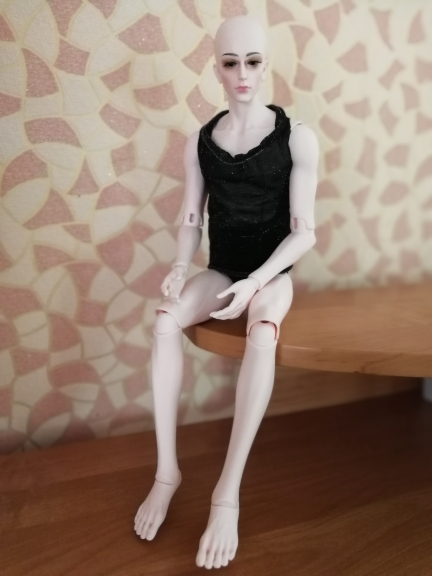 Nouvelle arrivée poupée bjd sd dollid garçon de haute qualité petit 3 point poupée commune libre yeux