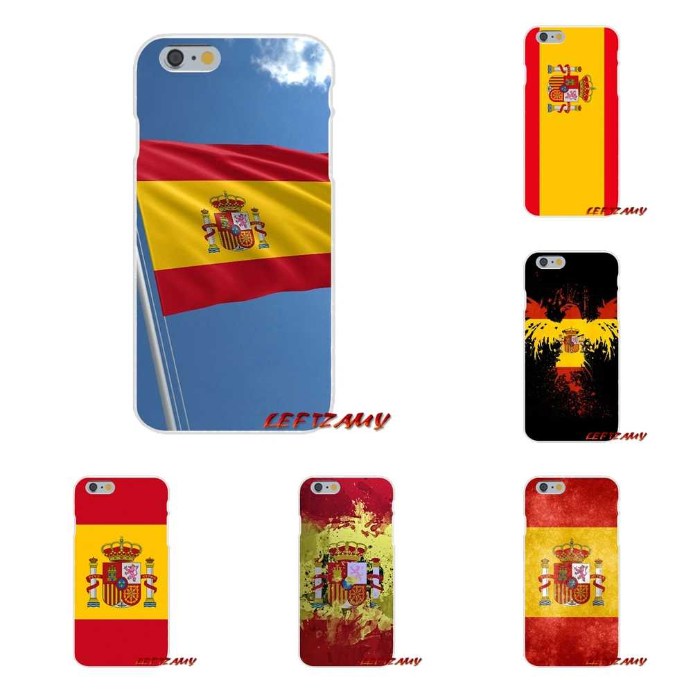 Spanish Spain Flag Accessories Phone Cases Covers For Samsung Galaxy A3 A5 A7 J1 J2 J3 J5 J7 2015 2016 2017