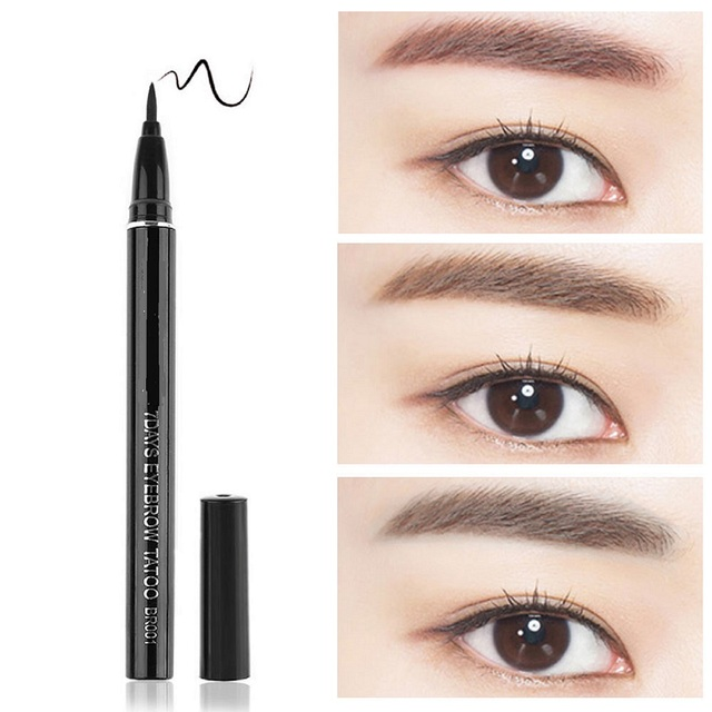 2017 Hot Sexy Women Waterproof Brown 7 Days Eye Brow Eyebrow Tattoo
