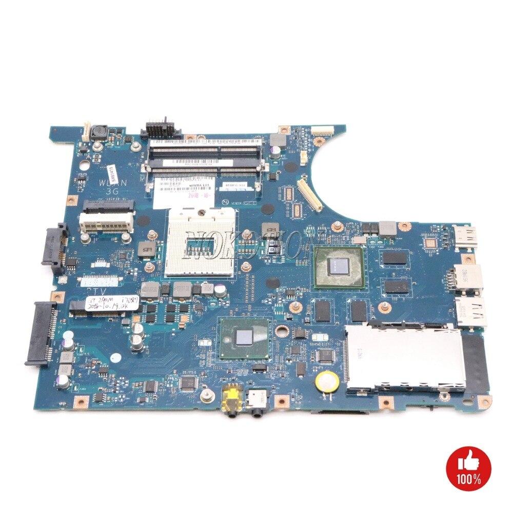 NOKOTION NIWBA LA-5371P Carte Mère Pour Lenovo Y550P Ordinateur Portable carte Principale Soutien I7 Seulement DDR3 HM55 test complet