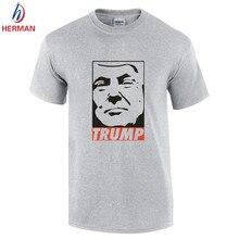 2016 männer Baumwolle Trump T-shirt Mode Für Männer O Neck Donald Trump shirt T-shirt Trump Für Präsident Kleidung, kleidung Für Männer, GT054