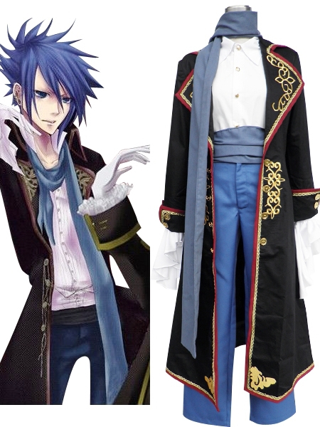 Free Shipping Vocaloid Kaito Gothic Lolita Cosplay Costumes