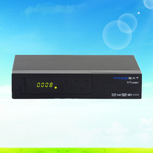 Receptor de satélite FREESAT V7 COMBO (S2 y T2) Decodificador digital de Apoyo USB WIFI Yo 1080 P Full HD Receptor de Satélite DVB-S2 + T2