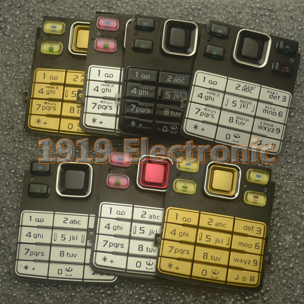 New Main Menu English Or Russian Keypad Keyboard Buttons
