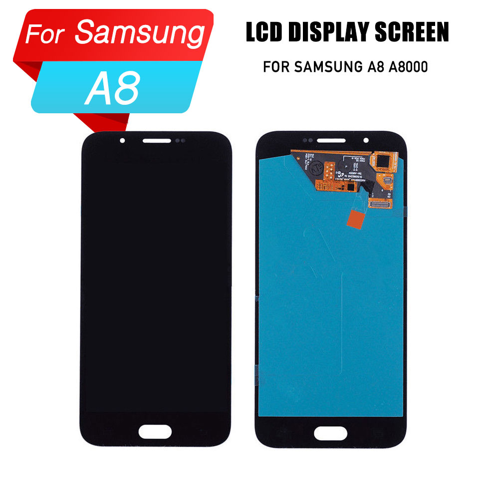 LCD screen for Samsung galaxy <font><b>A8</b></font> A8000 <font><b>display</b></font> digitizer lcd screen for samsung galaxy <font><b>A8</b></font> <font><b>display</b></font> lcd image