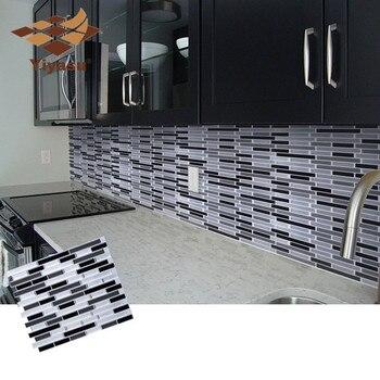 Самоклеющаяся виниловая настенная мозаика W4 для ванной, кухни, домашнего декора