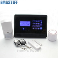 Wireless GSM SMS Home Emergency Alert Security Alarm System With Two Relay Output M2E
