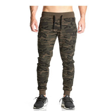 Men 2017 Top quality casual pants men brand clothing male sweatpants trousers Black light gray dark gray camouflage