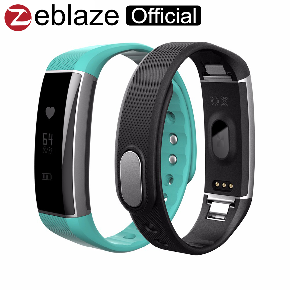 Original Zeblaze ZeBand Bluetooth4 0 Smart Wristband Heart Rate Monitor Smart Bracelet Fitness Tracker Smartband For