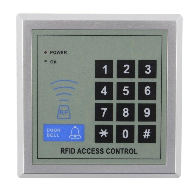 Sistema de controle acesso 125 khz dc 12 v do fechamento da porta da entrada da proximidade do rfid da segurança