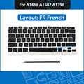 Новый набор ключей AP08 Французский Испанский Русский немецкий Португальский Швейцарский венгерский для Macbook Air Pro Retina A1466 A1502 A1398