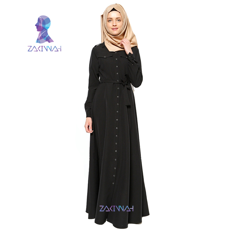 Satin+composite Silk Fabric 20150202 Novelty & Special Use Muslim Women Abaya Long Sleeve Maxi Dress High Quality Lace Traditional & Cultural Wear