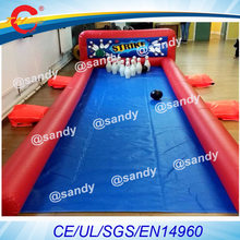 free air ship to door,outdoor Human Blowing Ball,Giant Inflatable Bowling Ball Game,Human Bowling carnival game(China)