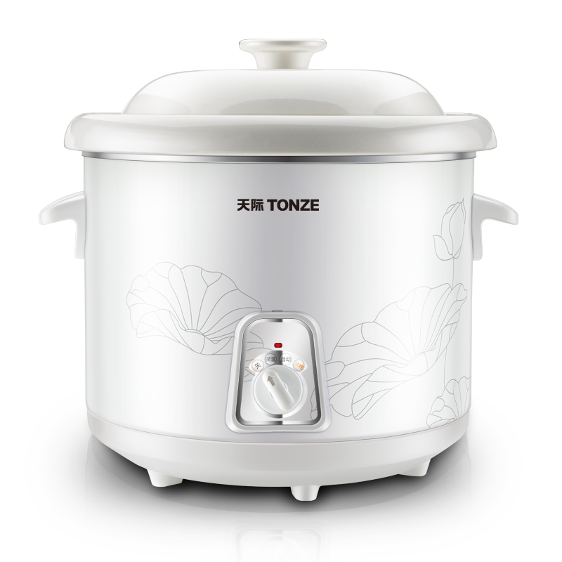 Quick stew / slow cook Porridge Soup Electric cookers White porcelain liner intelligent Porridge pot Mini sous vide cooker