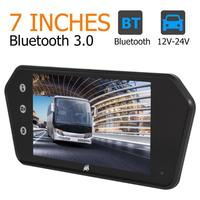 7 inch Touch Car Rearview Mirror Monitor MP5 Player Bluetooth/USB/TF/FM