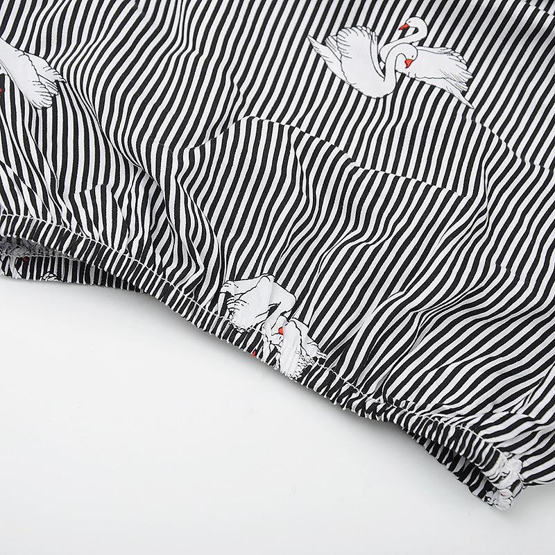 HTB1hWS3gyOYBuNjSsD4q6zSkFXaV - (4 sets/lot) New 2018 Summer Girls' Clothing Sets Striped T-shirt & Shorts Baby Girl 2 PCs Set  8042615