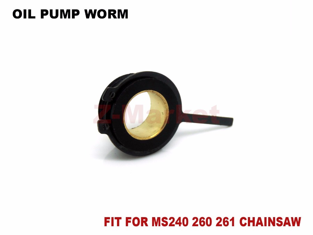 Kettingzagen: toebehoren Stihl 024  oil pump worm Elektrisch gereedschap