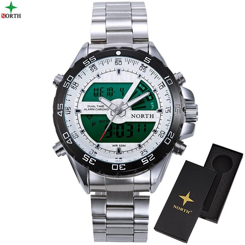 Watch men Top Luxury Brand Men Sports Watches Men s Quartz Clock Man Stainless Steel Army