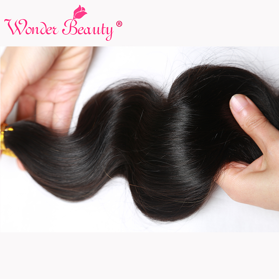 beauty body wave end ,thick and smooth