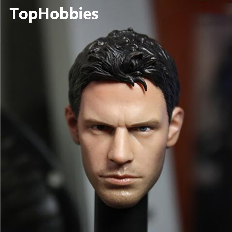 Male Head Sculpts Model Toys 1/6 Scale Resident Evil Piers Chris Redfield Man Head Craving Model A-04 Model For 12