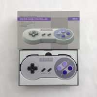 8 8bitdo SNES30 Bluetooth Wireless Gamepad Controller Pro Juego Diseño Tecla Programable para iOS Android PC Mac Linux