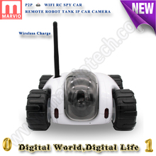 Wireless charge 960P robot remote access tank IP Camera wifi memory Card smartphone control security camera cctv camera wifi
