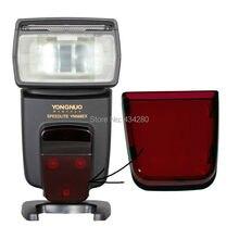 Nowa cała sprzedaż oryginalny błysk yongnuo speedlite naprawa czerwone plastikowe szkło AF dla YN568EX YN568EXII YN 568EX YN 568EXII