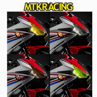MTKRACING Motorcycle accessories For HONDA CBR500R CBR 500R CBR 500 R 2016 2018 Acrylic Headlight Protector Cover Screen Lens