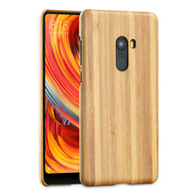 ФОТО natural wooden phone case for xiaomi mi mix 2 mix2 case cover bamboo/walnut/rosewood/black ice wood/ shell 5.99