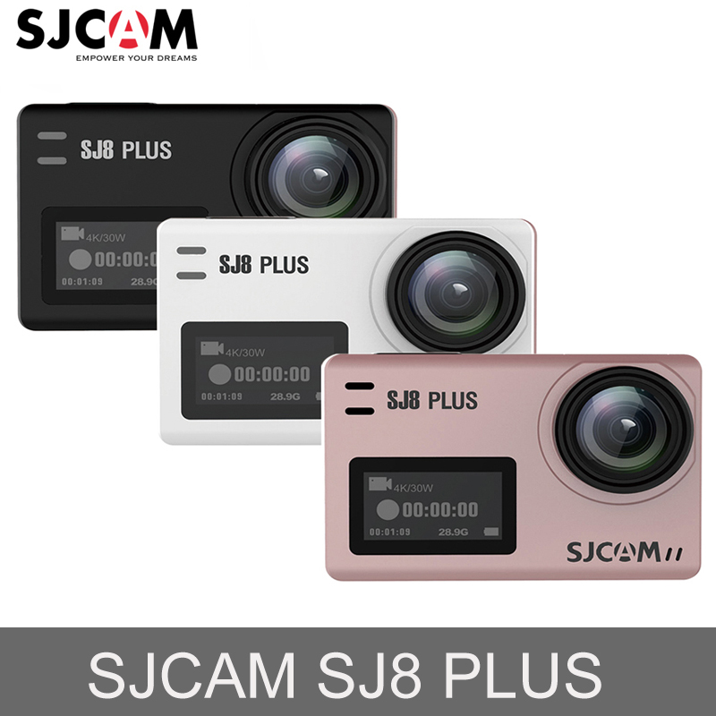 D'origine SJCAM SJ8 Plus Écran Tactile Action Caméra WiFi 4 k 1200 mah HD DVR Caméscope Télécommande Étanche Sport caméra