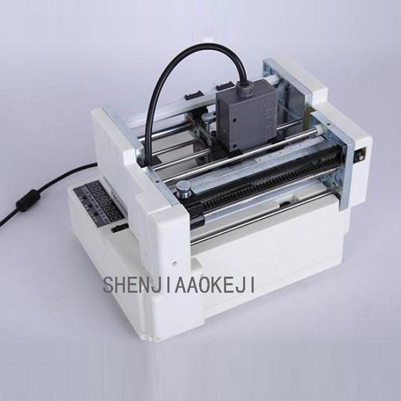 Automatic Small label printing stickers marking machine document feeder positioning Label segmentation machine 220V