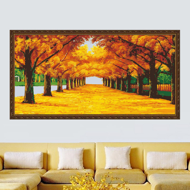 MaHuaf A1174 large 80*160 oil painting by numbers wall art ...