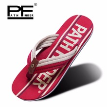Pathfinder men shoes casual Outdoor loose-fitting male beach slippers flip flops outdoor mens sandals zapatillas hombre цена