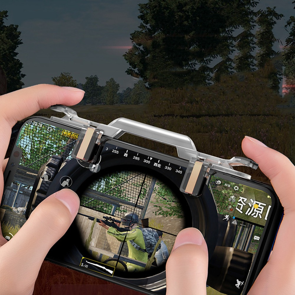 L1 R1 Shooter Controller For PUBG IOS Android Mobile Phone Game