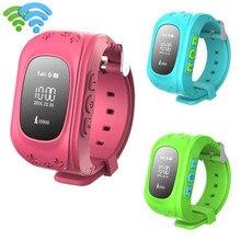 2017 Nuevas Llegadas Niños anti-perdidos Inteligente Reloj Posicionamiento GPS Reloj de Pulsera Bluetooth Para Android Envío Libre XP15M04
