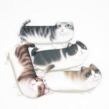 pencil case kawaii Cartoon astuccio High capacity school supplies Animal cat gran capacidad Cute bag papeleria bonita material