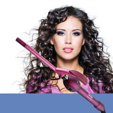 Hair styling tools Curling Iron Tapered Curling Wand Electric Curlers professional Tourmaline Ceramic Cone hair curler rollers