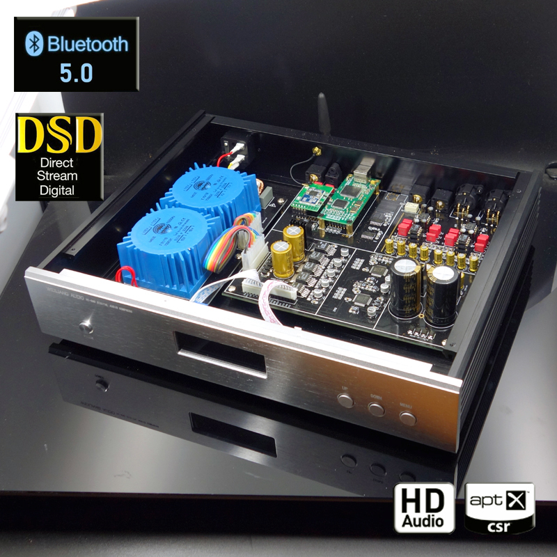 Bluetooth 5 0 DAC AK4497 AK4118 decoder for audio amplifier chip supports DSD256 PCM384K Amanero USB