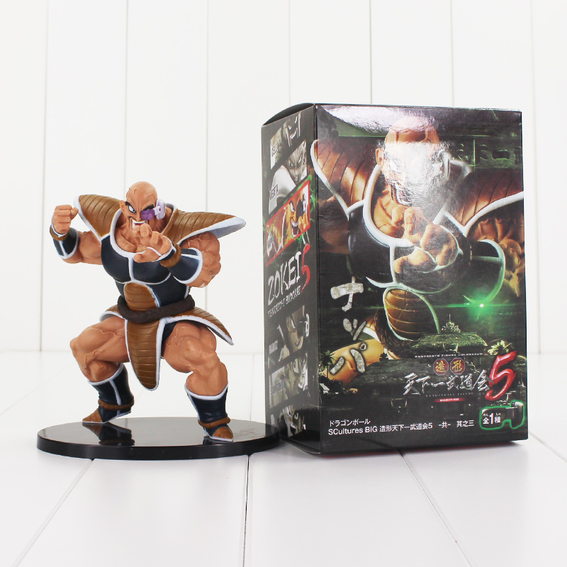 Dragon Ball Z Action Figures Nappa Raditz Son Goku Brother Anime Dragonball z Action Figure Esferas Del Dragon 15CM ...