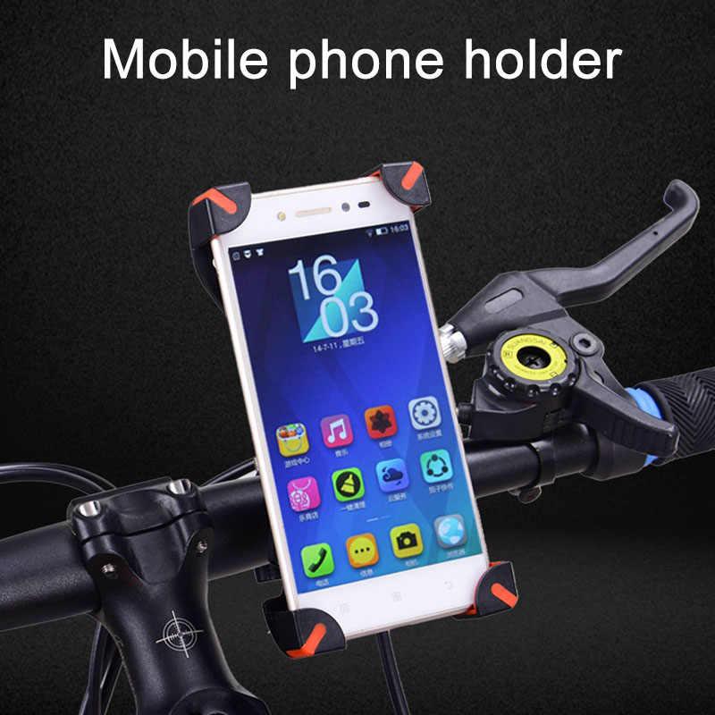 ใหม่ 360 หมุนหมุนผู้ถือจักรยานโทรศัพท์อัพเกรดจักรยาน MTB ผู้ถือขาตั้งโทรศัพท์ BF88