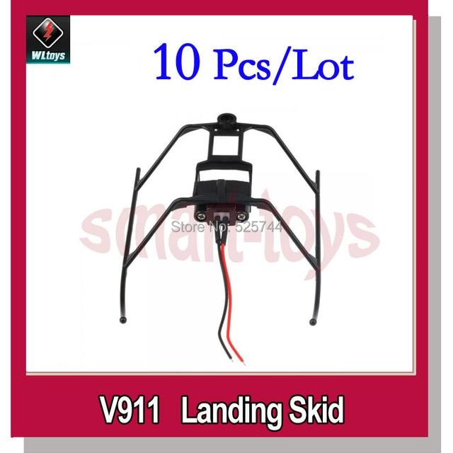 10pcs WLtoys V911-08 Landing Skid for V911 V911-1 V911-pro Helicopter V911 parts