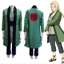 ホットアニメ衣装ナルトスーツセット綱手全体セットコスプレハロウィンパーティーコスチュームギフト