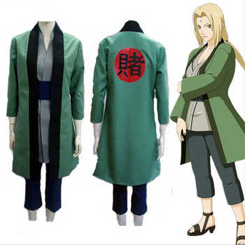 HOT Anime Costume NARUTO Suit set Tsunade  Whole Set Cosplay Halloween Party Costumes Gift - DISCOUNT ITEM  40% OFF All Category