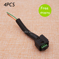 4PCS PDC Parking Sensor Plug Cable 1379729 3pin Fit For 9663821577 5HX08SW1AA 25723406 30765108 etc.
