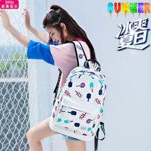 fashion Designer Schoolbags cute Printed Rucksack For Teenager Girls women travel Backpack Feminina Notebook school bags Mochila