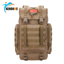 Hot 40L Tactical Molle Shoulder Bag Military Camping Hunting Bags Travel Rucksack Outdoor Multifunctional Climbing Backpack