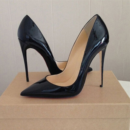 Фотография Top Quality Pointed Toe So Kate High Heels Shoes 2017 Women Pumps Sexy Women Shoes Chaussure Escarpins Semelle Roug 12CM/10CM