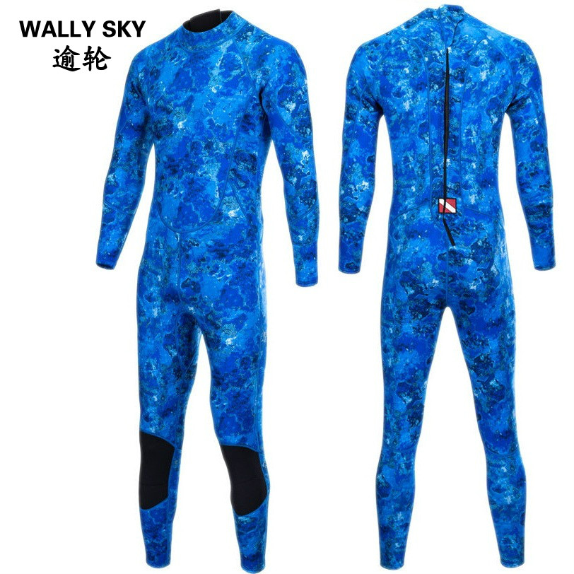 3mm Men Neoprene Surf Wetsuit Camo Diving Suit Men's Diving Wetsuit Snorkeling Swimming Suit Clothes Surfing Scuba Body Suit uv suncreensuit men diving wetsuit scuba snorkeling diving suit men rashguard swimming long sleeve swimwear surf suit hmu0026 5